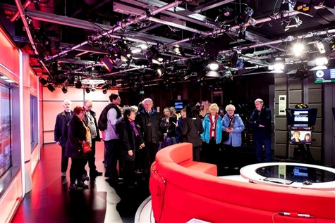 BBC Studio Tour at Mediacity