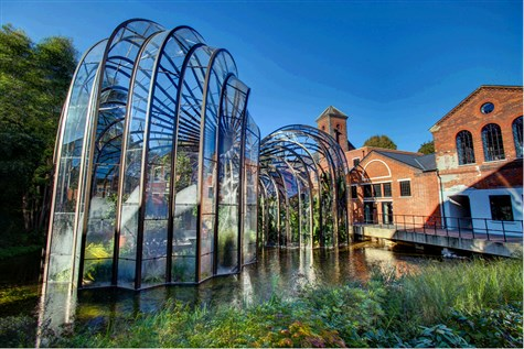 Winchester & Bombay Sapphire Gin Distillery
