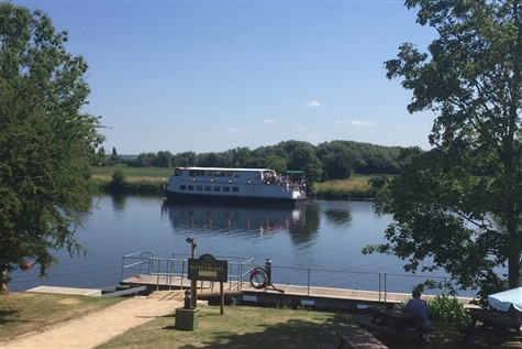 A Day Trip to a River Trent Afternoon Tea Cruise