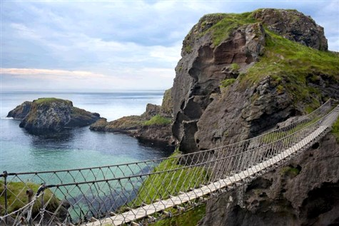 Amazing Antrim Coast & a Beautiful Train Ride