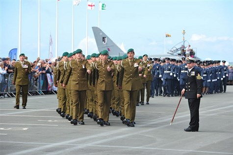 National Armed Forces Day-Llandudno Express