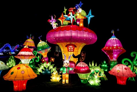 Longleat Festival of Light: Myths and Legends