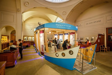 The Bank of England Museum & London