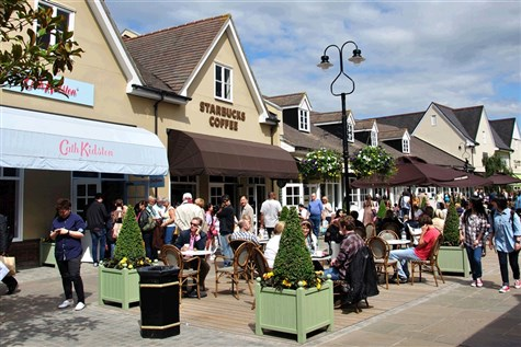 Bicester Designer Shopping Outlet Village Express