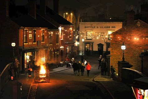Traditional Christmas Evening Black Country Museum