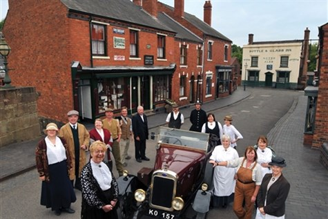 Black Country Living Museum, 1940s weekend Express