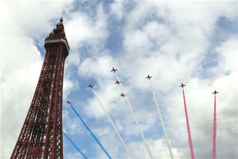 Blackpool Air Show Express