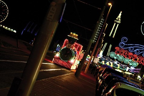 Blackpool with Illuminations Tour
