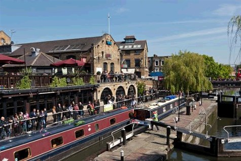 Camden Market & London's Hidden Waterway