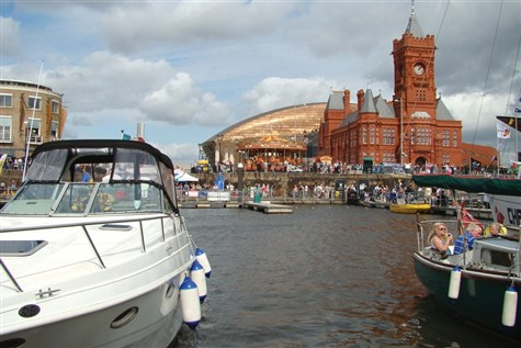 Cardiff Bay Harbour Festival Express