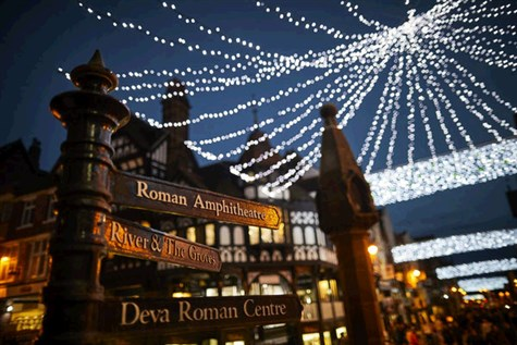 Chester at Christmas Time or Cheshire Oaks