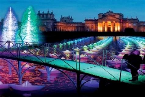 Christmas at Blenheim - Cinderella's Palace & Trai