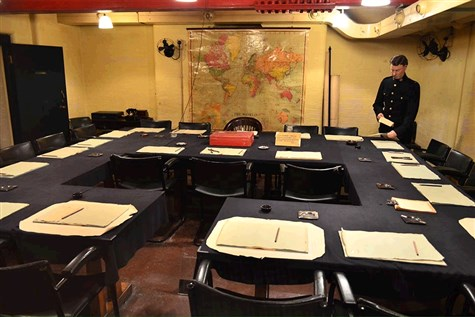 Churchill War Rooms and London