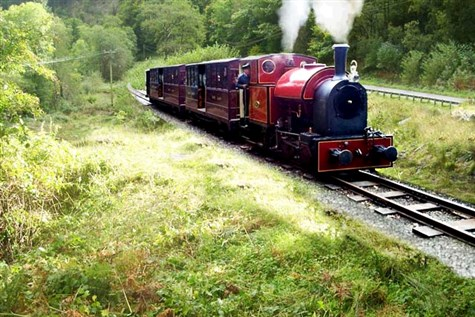 Mid Wales Myth & Legend: Corris Railway, Craft Cen