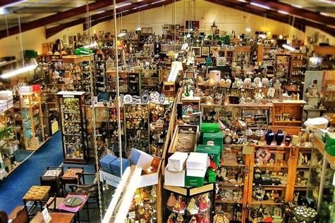 Dagfields Crafts & Antiques & Bridgmere Garden Exp