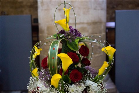 Ely Flower Festival and the Stained Glass Museum