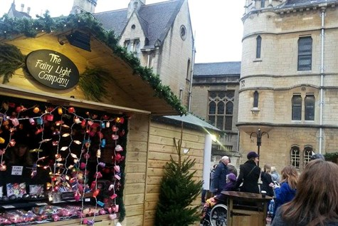 Oxford at Christmas with Christmas Market Express