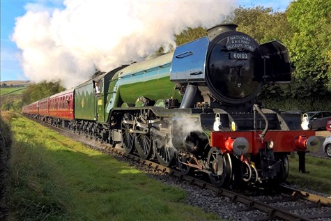 Flying Scotsman at the East Lancashire Railway