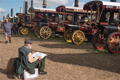 Great Dorset Steam Fair, 50th Anniversary