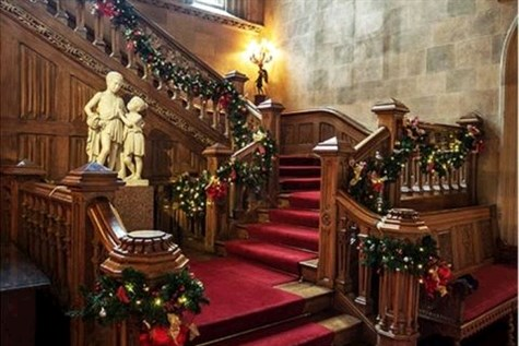 Christmas at Highclere Castle.
