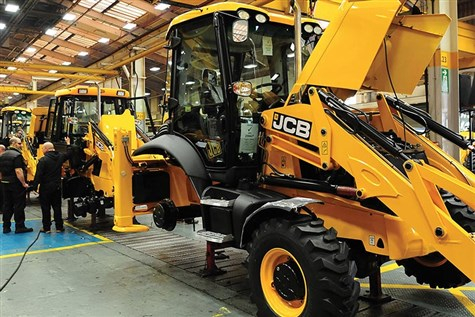 JCB Factory Tour with Two Course Lunch