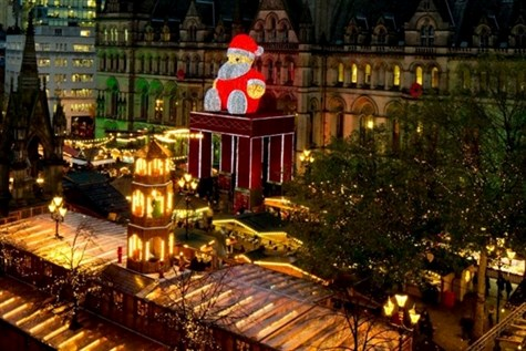 Manchester Christmas Market  OR  Trafford Centre