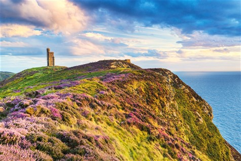Milner's Tower, the Isle of Man