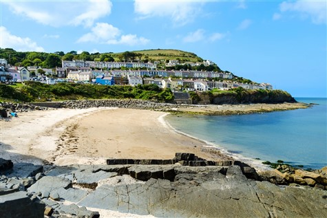 New Quay and Aberaron in Wales