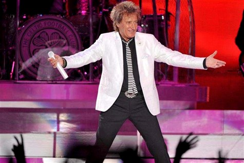 Rod Stewart, The Arena, Birmingham