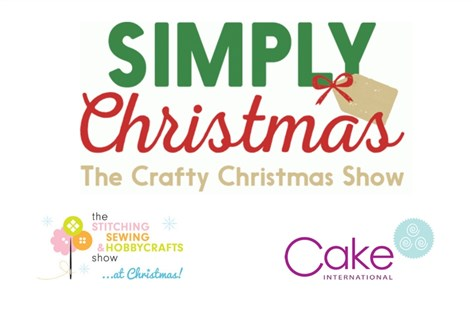 Simply Christmas, Hobbycrafts & Cake International