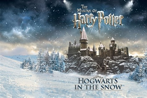 Harry Potter Studio Tour: Hogwarts in the Snow