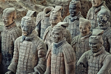 Liverpool and the Terracotta Warriors