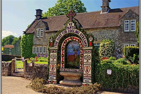 Tissington Well Dressing & Ashbourne Express
