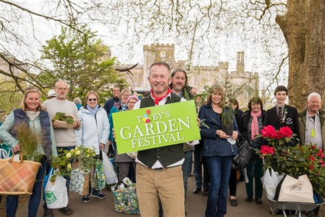 Toby Bucklands Garden Festival at Powderham Castle
