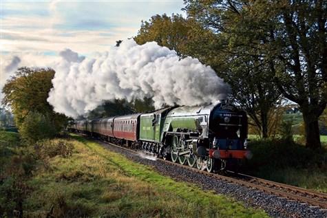 Tornado at the East Lancashire Railway