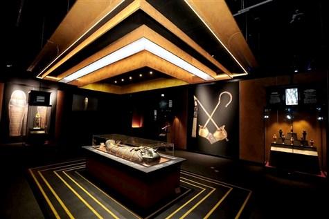 Tutankhamun, Treasures of the Golden Pharaoh,