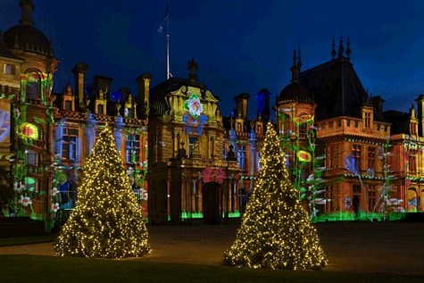 Waddesdon Manor at Christmas