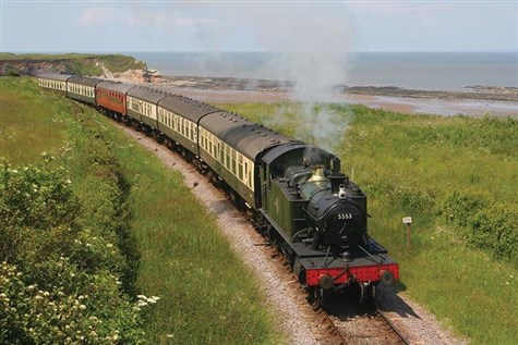 Somerset, Seaside and Steam