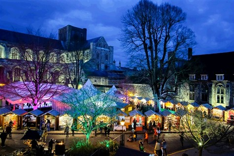 Winchester Cathedral Christmas Market Express