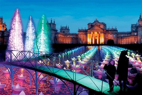 Blenheim Palace & Festive Light Trail Express