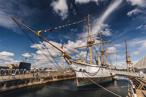 Salute To The 40's at Chatham Dockyard, Kent