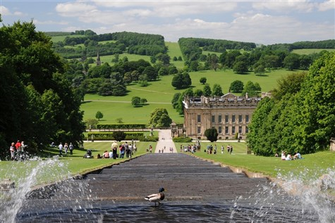 Chatsworth House with Guided Tour, Derbyshire