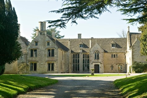 Chavenage House in Tetbury