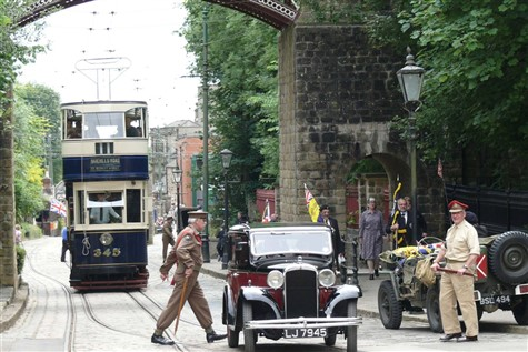 'WW2 Home Front' at Crich Tramway Village