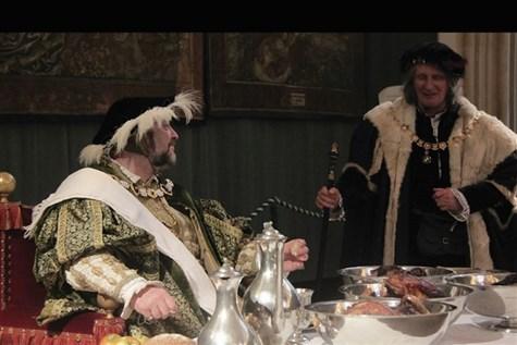 Hampton Court Palace Tudor Christmas, Surrey