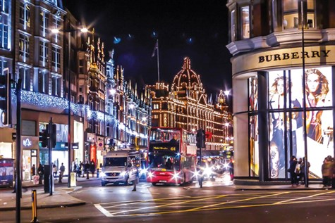 London Christmas Lights & Sights Tour