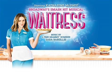 Waitress at the Adelphi Theatre
