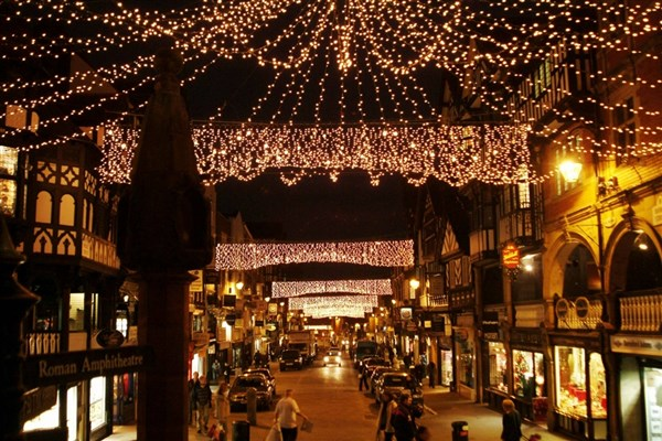 A Day Trip To Chester Christmas Market With Johnsons Coaches