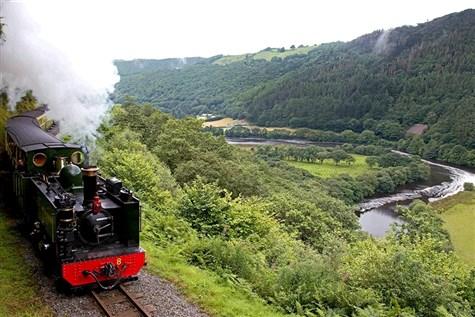 Rheidol Railway and Aberystwyth