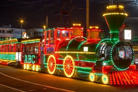 Blackpool Illuminations with tour of lights